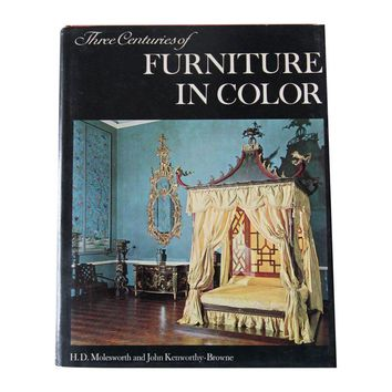 "Pre-owned ""Three Centuries of Furniture in Color"" Book"