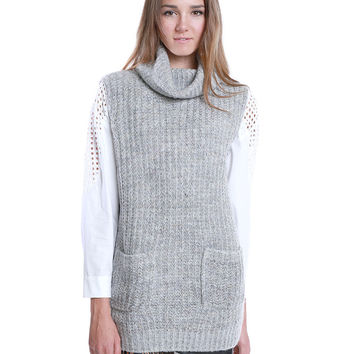 One Cozy Day Sweater Tunic Top