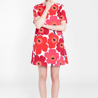 Apparel: Marimekko Unia nightgown in white, red, plum | Marimekko Store