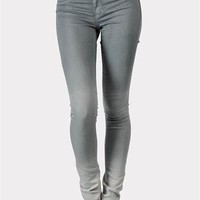 Ombre Skinny Jeans - Grey at Necessary Clothing