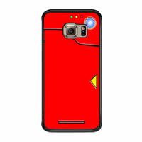 Red Pokedex Pokemon Samsung Galaxy S6 Edge Plus Case