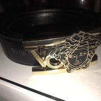 AUTHENTIC MENS VERSACE BELT mens 50-125cm