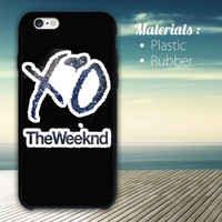 The Weeknd XO iPhone 4/4S, 5/5S, 5C,6,6plus,and Samsung s3,s4,s5,s6
