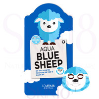 L'affair Animal Aqua Sheep Mask  *exp.date 04/18*
