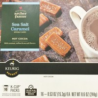 16 K-Cup Archer Farms Keurig Hot Cocoa Sea Salt Caramel, One - 8.6oz Box