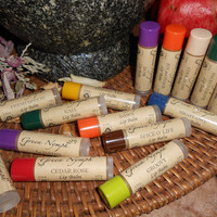 Lip Balm - EARTH MOTHER Collection - 15 Natural, Kissable, Deliciously Fresh Recipes