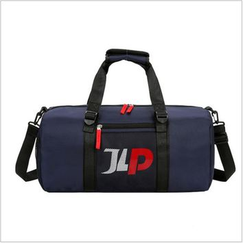 Sports gym bag Professional Large  Waterproof Gym Bag Polyester Men/Women Large Capacity Packable Duffle  Travel Backpack KO_5_1