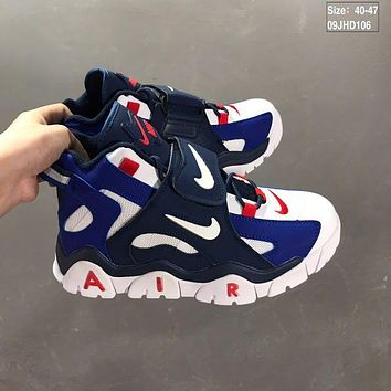 Nike Air Barrage Mid QS Blue/White/Red