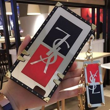 PEAP YSL Fashion Personality Print iPhone Phone Cover Case For iphone 6 6s 6plus 6s-plus 7 7plus
