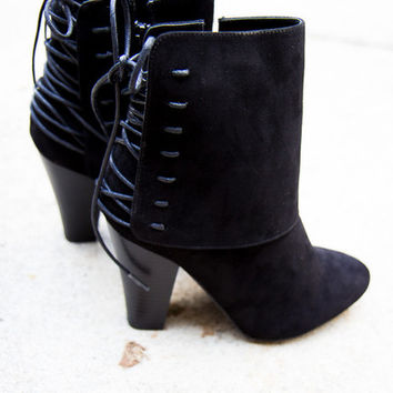 Laced Up Booties