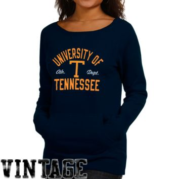adidas Tennessee Volunteers Ladies Sealed Up Crew Sweatshirt - Navy Blue