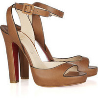 Christian Louboutin | Viola 120 leather sandals | NET-A-PORTER.COM