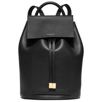 Miranda Large French Calf Leather Backpack | Michael Kors