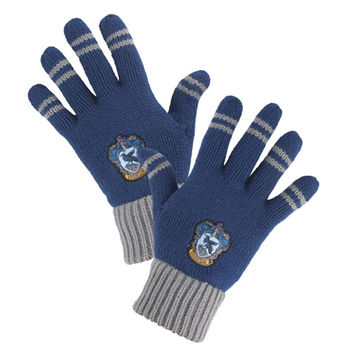 Ravenclaw™ Striped Gloves | Universal Orlando™