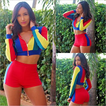 NATTEMAID Autumn Winter long sleeve Sexy track suits Women 2 Piece Set women 2017 fashion streetwear night club 2 pieces suits