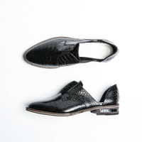 WEAR LACELESS D'ORSAY OXFORD