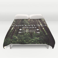 Adventure awaits Duvet Cover by Nicklas Gustafsson