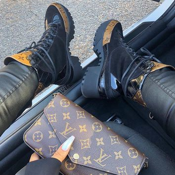 Louis Vuitton LV LAUREATE PLATFORM DESERT BOOT
