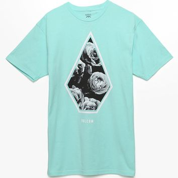 Volcom Photo Floral Fill T-Shirt - Mens Tee - Green
