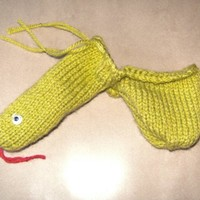 Sid the Snake Willy Warmer by Sharnemainiaknits on Etsy