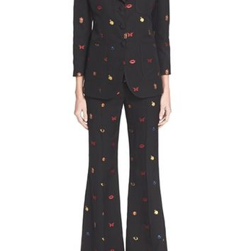 Alexander McQueen 'Obsession' Embroidered Jacket | Nordstrom