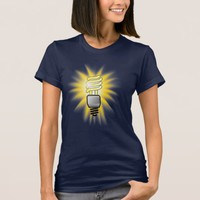 Energy Saver Light Bulb - Bright Idea T-Shirt