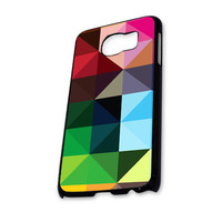 Colorful Geomatric Samsung Galaxy S6 Case