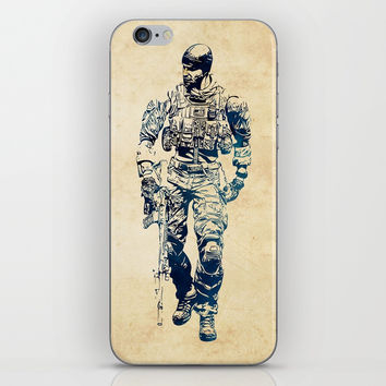 Tom Preacher iPhone Skin by naumovski