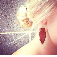 Skylar Earrings in Goldstone - Kendra Scott Jewelry