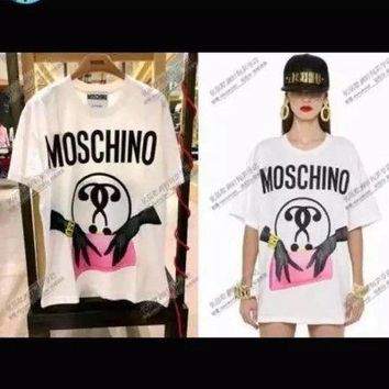 moschino fashion women t shirt-7