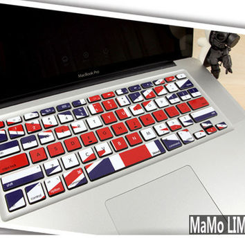 Macbook decal Macbook Keyboard Decal Macbook Pro by MaMoLIMITED
