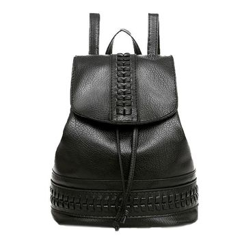 Student Backpack Children Luxury Backpack Women Leisure Student Schoolbag Soft Women Leather Backpack Mochila Feminina sac a dos AT_49_3