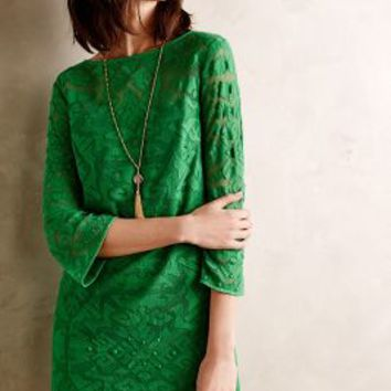 Gili Lace Shift by 4.collective Green