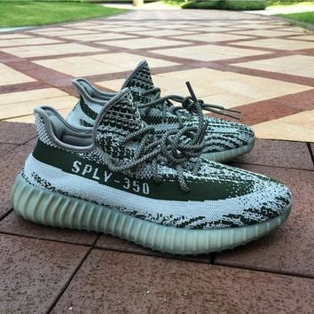 Adidas Yeezy 350 Boost V2 Luminous Color Basketball Shoes 36 47