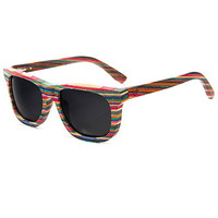 Diamond Supply Co. Recycled Skateboard Sunglasses - Multi at Urban Industry