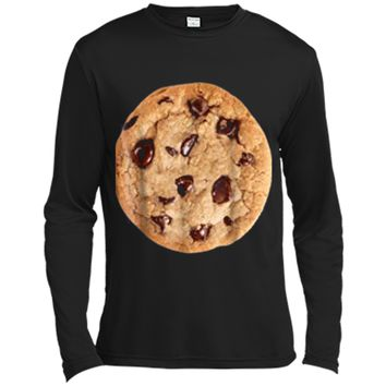 Cookie last minute Halloween funny matching costume  Long Sleeve Moisture Absorbing Shirt