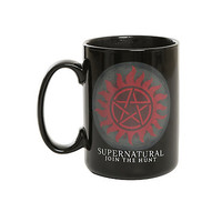 Supernatural Anti-Possession Heat Reveal Mug