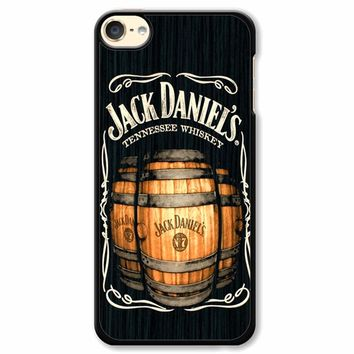 Jack Daniels On Black Wood 2 iPod Touch 6 Case