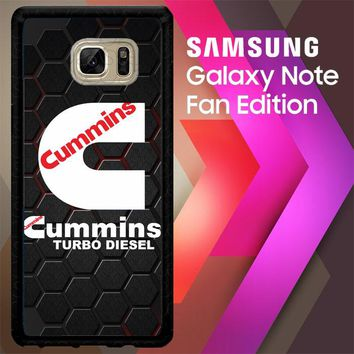 Cummins Turbo Diesel  Z3154 Samsung Galaxy Note FE Fan Edition Case