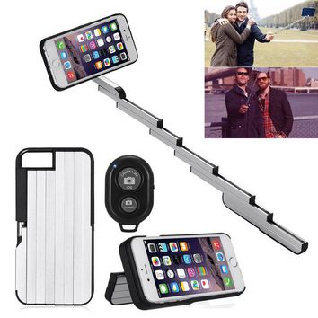 Aluminum-StikBox-Selfie-Stick-Phone-Case-Cover-For-iPhonewith-Remote
