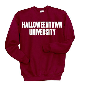 halloweentown university sweatshirt disney halloween shirt funny halloween clothing