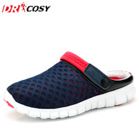 Summer Women's Slipper Women Hole Hollow Ventilating Sandals Clogs Beach Clogs Breathable Mesh Clogs Abrasion MD Plus Size 4-13