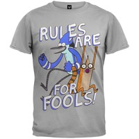 Regular Show - Rule Fool Soft T-Shirt