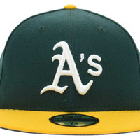 Oakland Athletics MLB Authentic Collection 59FIFTY Cap