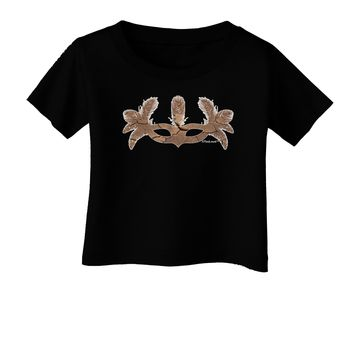 Earth Masquerade Mask Infant T-Shirt Dark by TooLoud