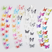 Removable Butterfly 3D Wall Stickers