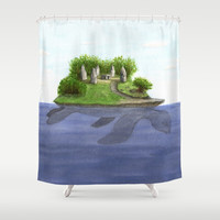 Turtle island Shower Curtain by savousepate