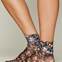 Free People Lace Rosette Anklet