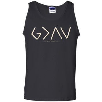 God is Greater Than the Highs and Lows  Tank Top