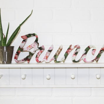 Brunch Floral Wedding Shower Wood Sign Printed and Unprinted Wedding Couple Sign
